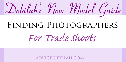 New Model Guide: Finding Photographers for Trade Shoots