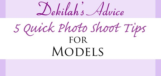 5 Quick Photo Shoot Tips for Models